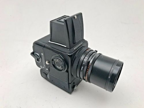 Hasselblad 500ELM camera with 120 film magazine and 50mm CF Distagon lens